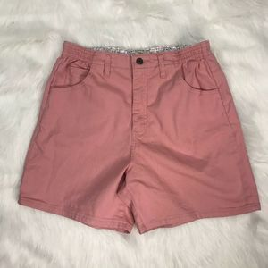 LEE SIDE ELASTIC AT THE WAIST SIZE 10P PINK SHORTS